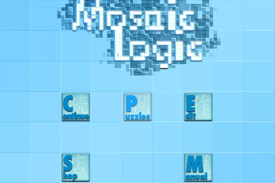 Screenshot MosaicLogic